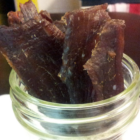 Honey Garlic Ginger Beef Jerky