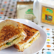 Grilled Cheese with Apricot Jam and Arugula