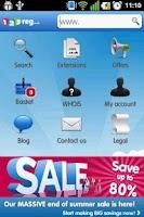 Screenshot of 123-reg Domains App