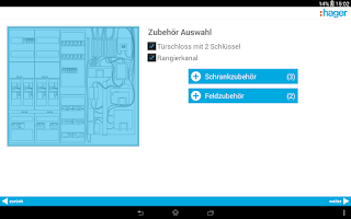 Screenshot of ZPlan.mobile Zählerplatz Hager