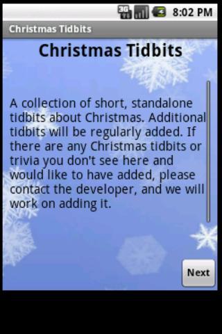 Christmas Tidbits