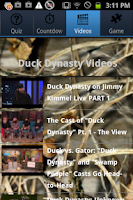 Screenshot of Ultimate Fans of Duck Dynasty