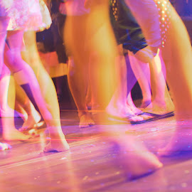 Dance - 2014 by Thomas Hertz - Wedding Other ( music, color, colorful, wedding, bare foot, party, dance )