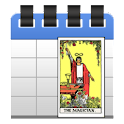 Daily tarot card icon