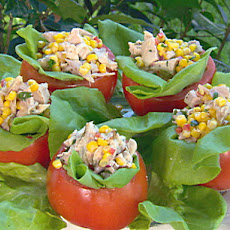 Tomatoes stuffed with Chicken Salad