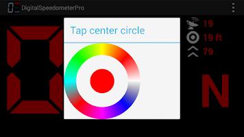 Screenshot of Digital Speedometer Pro