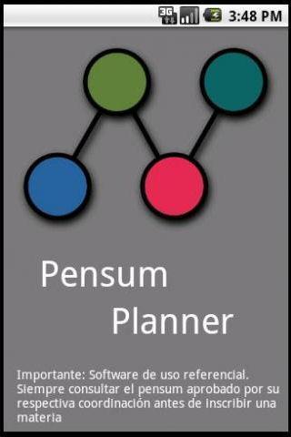 Pensum Planner Ciencias UCV