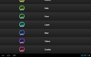Screenshot of Free Latin Ringtones