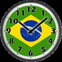 Brazil Clock icon