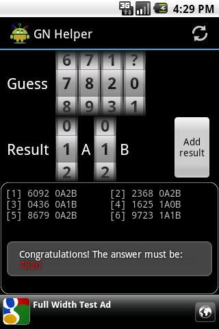 Guess Number Helper