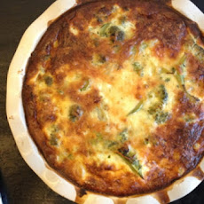 Broccoli Leek Savory Pie