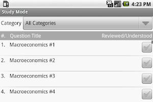Screenshot of AP Macroeconomics Exam Prep