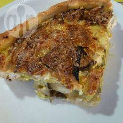 Prei-courgette Quiche