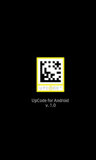 UpCode barcode scanner