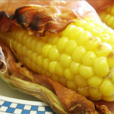 Bacon Wrapped Grilled Corn on the Cob