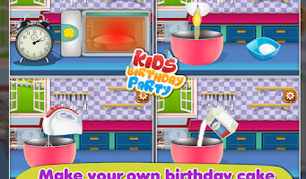 Screenshot of Kids Birthday Party