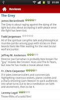Screenshot of FREE New Movie Reviews