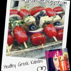 Healthy Greek Kabobs ♥