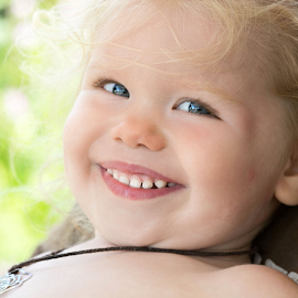 Sweet Smile by Janet Lyle - Babies & Children Toddlers ( children, kids, toddler )