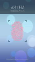Screenshot of Advanced fingerprint lock