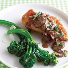 Marsala Chicken with Sage and Cremini Mushrooms