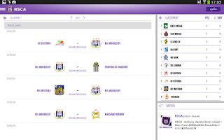Screenshot of RSCA Official by Proximus