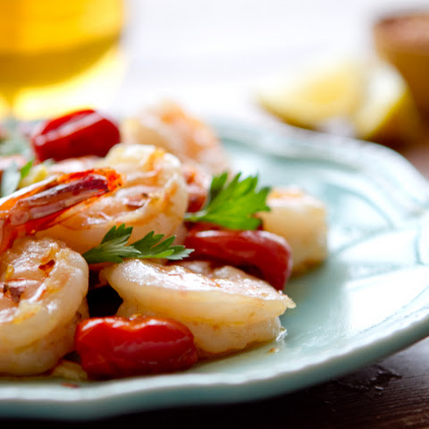 Oil Poached Spanish Sherried Shrimp