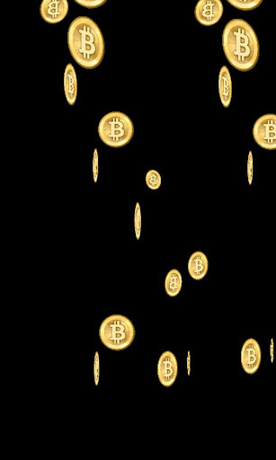 Bitcoin Rain Live Wallpaper
