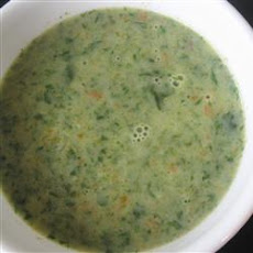 Spinach Garlic Soup