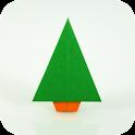 Origami de Navidad icon