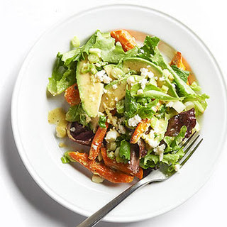 Avocado & Roasted Carrot Salad
