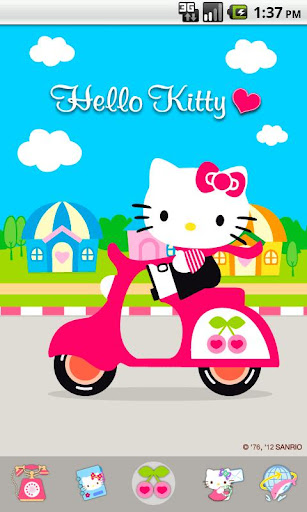 Hello Kitty Scooter Theme