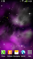 Screenshot of Galaxy 3D Parallax LWP Free