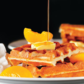 Waffle by Widhie Kristiyanto - Food & Drink Eating