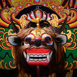 Barong Banyuwangi  by Agoes Santoso - Artistic Objects Toys