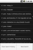 Screenshot of MELaw Criminal Title 17/17-A