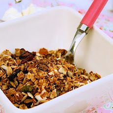 Sour Cherry and Coconut Granola