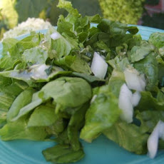 Very Green Salad With Herb Vinaigrette
