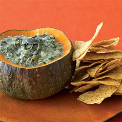 Pepita-Roasted Tomatillo Dip