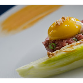 Beef Tartare by Maria Petti - Food & Drink Cooking & Baking ( Food & Beverage, meal, Eat & Drink )