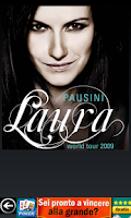 Screenshot of Laura Pausini