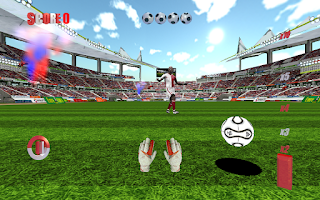 Screenshot of Goal Keeper