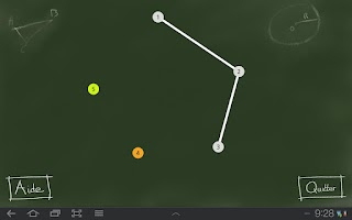Screenshot of Link the points geometry demo