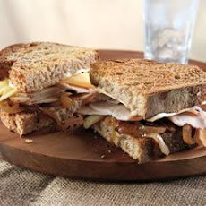 Turkey, Gouda and Caramelized Onion