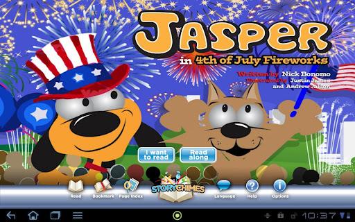 Jasper 4th of July StoryChimes
