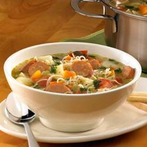 ... ® Chipotle Monterey Jack Cheese Chicken Sausage Mexican Market Soup
