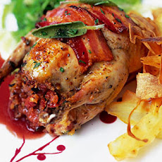 Chorizo-and-sage-stuffed Roast Partridge Recipe