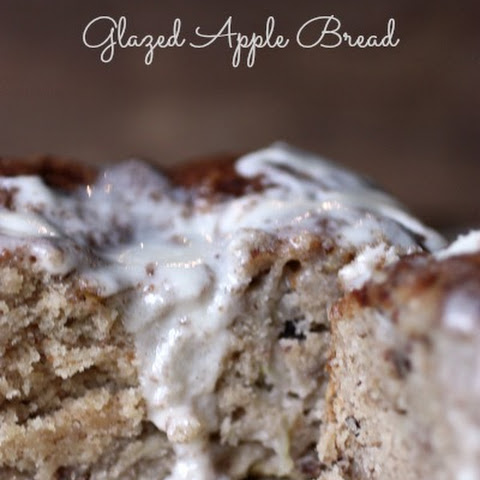 Glazed Apple Bread