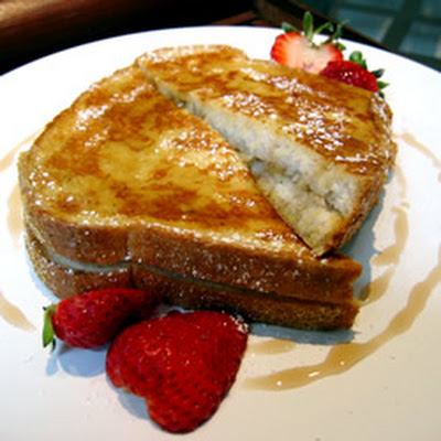 Karen's Baked Banana Stuffed French Toast