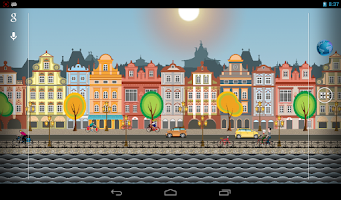 Screenshot of Amsterdam City Live Wallpaper